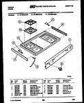 Diagram for 03 - Cooktop Parts