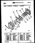 Diagram for 05 - Lower Oven Door Parts