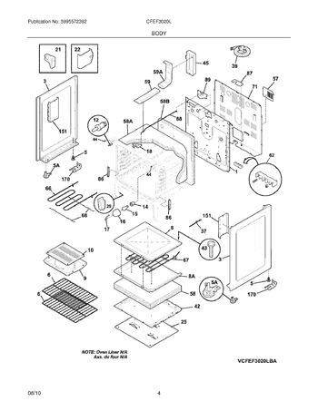 Diagram for CFEF3020LWC