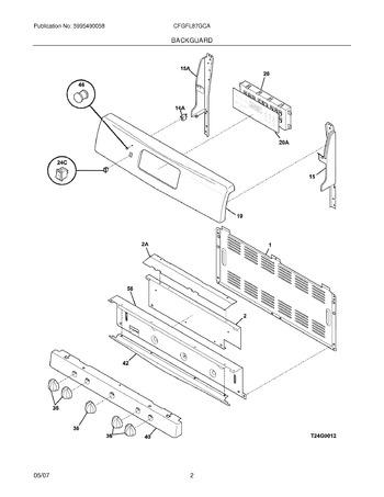 Diagram for CFGFL87GCA