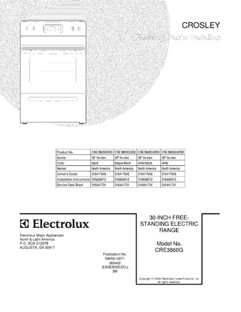 Diagram for CRE3860GWBB