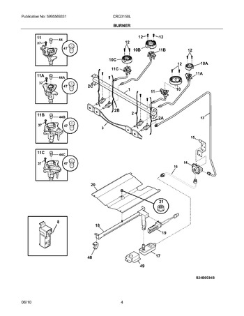 Diagram for CRG3150LWB