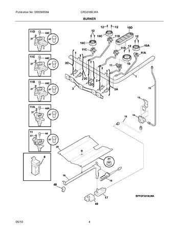 Diagram for CRG3180LWA