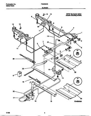 Diagram for F64B350BWB