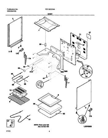 Diagram for FEF303CWA