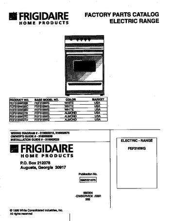 Diagram for FEF316WGSC