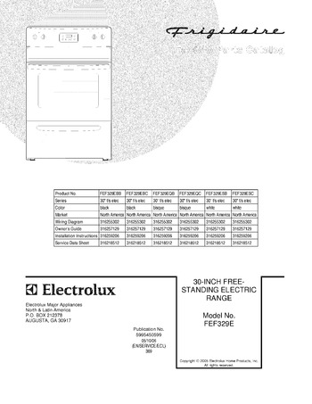 Diagram for FEF329ESB