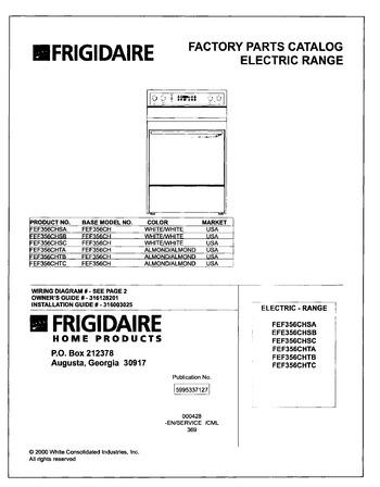Diagram for FEF356CHSC