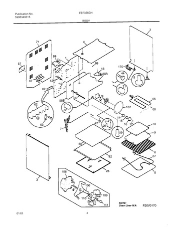 Diagram for FEF356CHSD