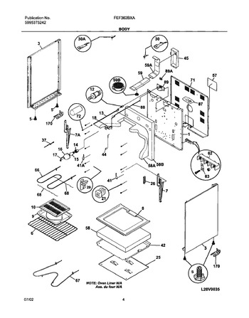 Diagram for FEF362BXAWD