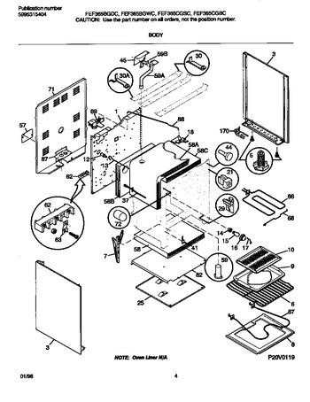 Diagram for FEF365BGWC
