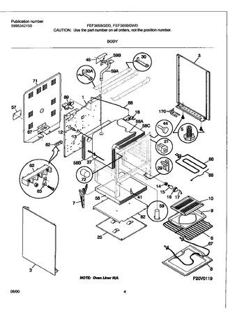 Diagram for FEF365BGWD