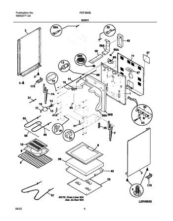 Diagram for FEF365BUA