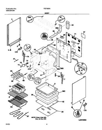 Diagram for FEF366AWF