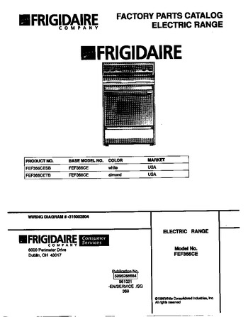 Diagram for FEF366CESB