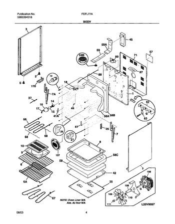 Diagram for FEFL77ASH