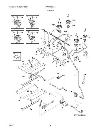 Diagram for FFGS3025LSA