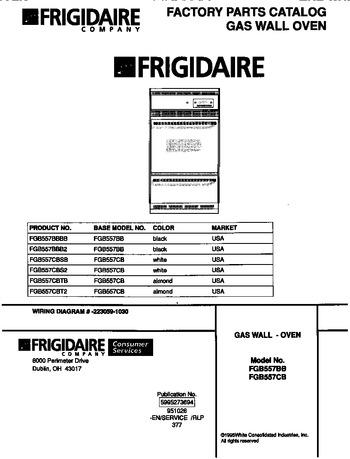 Diagram for FGB557CBTB