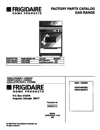 Diagram for FGF316WGTC