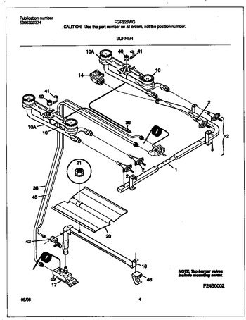 Diagram for FGF326WGTD