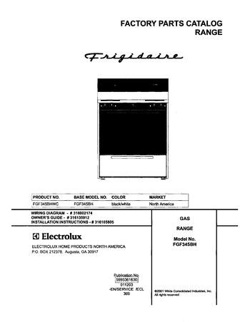 Diagram for FGF345BHWC