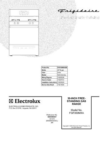 Diagram for FGF350MXASB