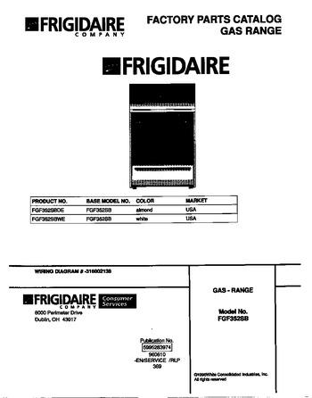 Diagram for FGF352SBWE