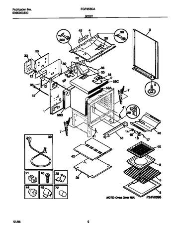 Diagram for FGF353CASH