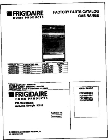 Diagram for FGF355CGSD