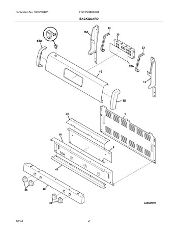 Diagram for FGF356MXAWB