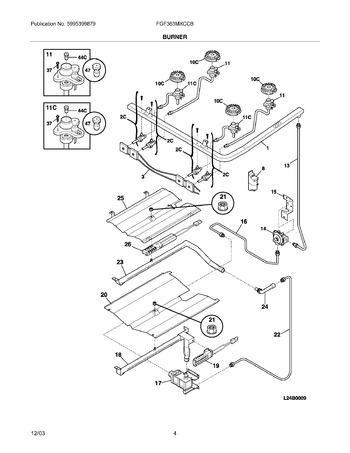 Diagram for FGF363MXCCB