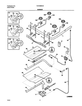 Diagram for FGF366BCB