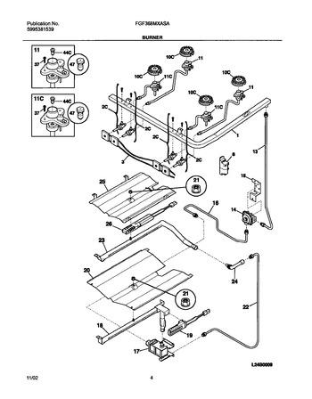 Diagram for FGF368MXASA