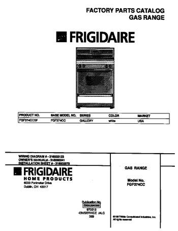 Diagram for FGF374CCSF
