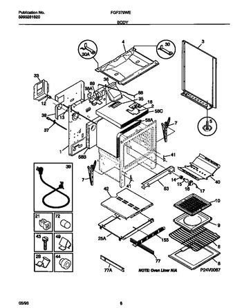Diagram for FGF379WESA