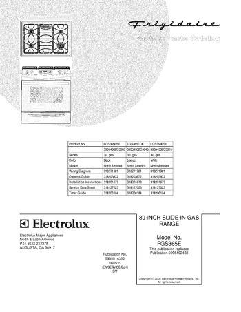 Diagram for FGS365EQE