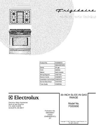Diagram for FGS365ECE