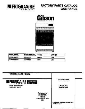 Diagram for GGF325BBWD