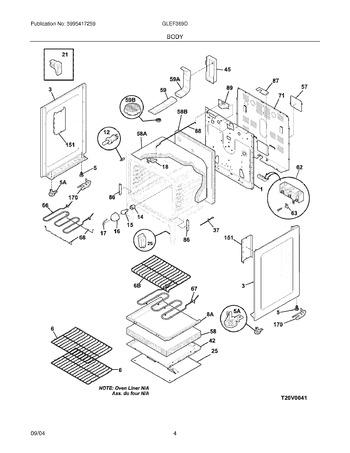 Diagram for GLEF369DSA
