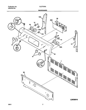 Diagram for GLEF376AQB