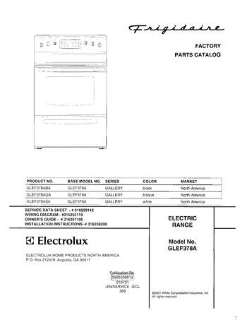 Diagram for GLEF378ASA