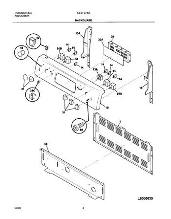 Diagram for GLEF378ASF