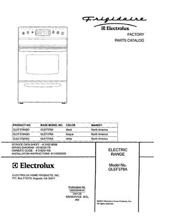 Diagram for GLEF378AQG