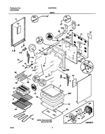Diagram for GLEFS76ASC