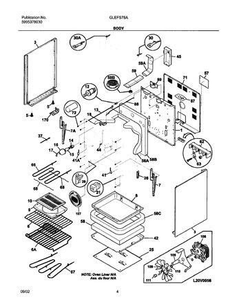 Diagram for GLEFS76ABH