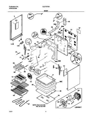 Diagram for GLEFS76AQE
