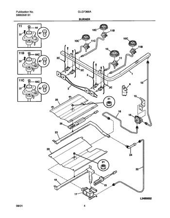 Diagram for GLGF366ASB
