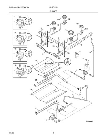 Diagram for GLGF376DQE