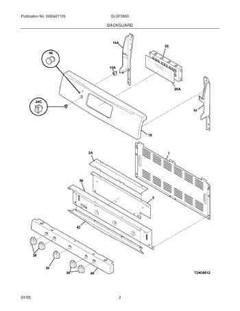 Diagram for GLGF386DQB