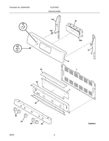 Diagram for GLGF386DBE